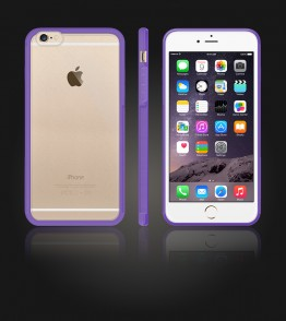 Matt Gummy Case iphone 6 Plus/6S Plus - Purple