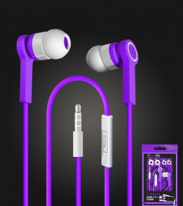 i-blast headset with mic 3.5mm - Purple