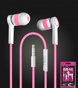 i-blast headset with mic 3.5mm - Pink