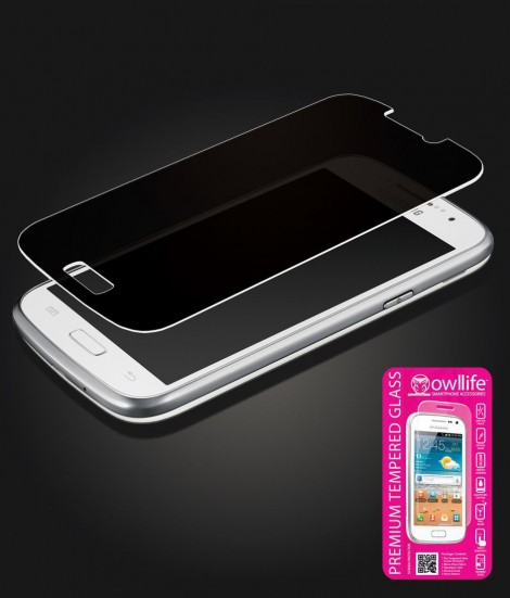 owllife Premium Tempered Glass privacy Galaxy S5