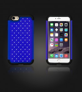 SiliTough diamond case iPhone 6 Plus/6S Plus - Blue