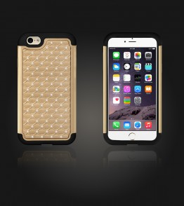 SiliTough diamond case iPhone 6 Plus/6S Plus - Gold