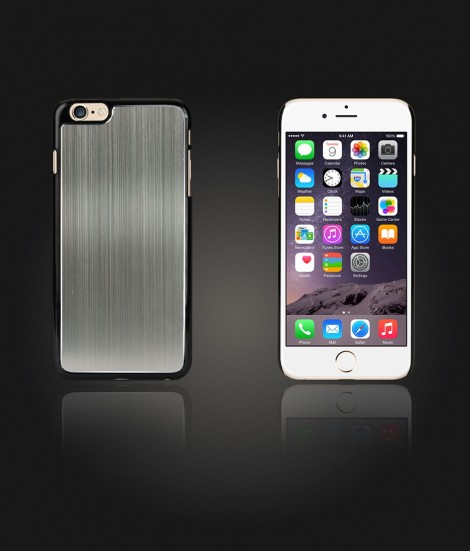 Chrom Back Slim Case iphone 6/6S - Gray