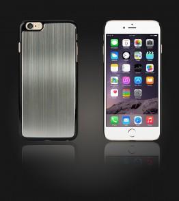 Chrom Back Slim Case iphone 6 Plus/6S Plus - Gray