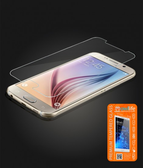 owllife Premium Tempered Glass Galaxy S6