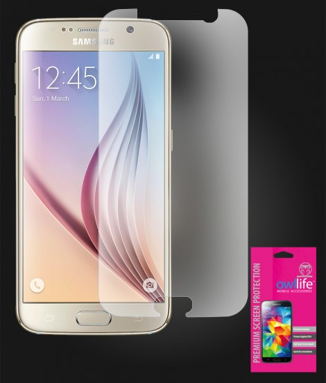 owllife Premium Screen Protector Galaxy S6 Anti Glare
