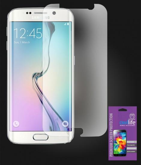 owllife Premium Screen Protector Galaxy S6 edge Anti Glare