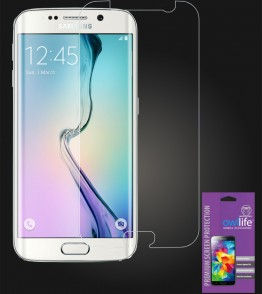 owllife Premium Screen Protector Galaxy S6 edge Clear