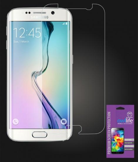 owllife Premium Screen Protector Galaxy S6 edge Clear