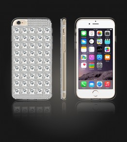 Diamond TPU Case iphone 6/6S - White
