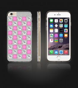Diamond TPU Case iphone 6/6S - Pink