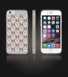 Diamond TPU Case iphone 6/6S - Brown