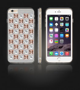 Diamond TPU Case iphone 6 Plus/6S Plus - Brown
