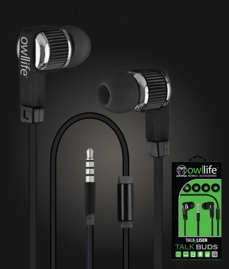 Owllife i-Blast Premium Headset - Black