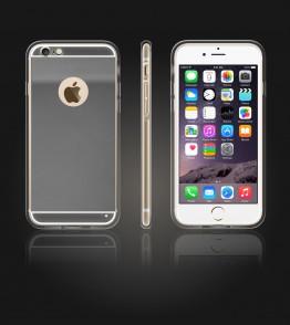 Gold TPU Case iPhone 6/6S - Silver