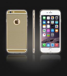 Gold TPU Case iPhone 6/6S - Gold