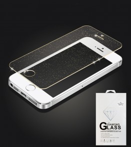 Premium Tempered Glass Sparkles iphone 5/5S/SE