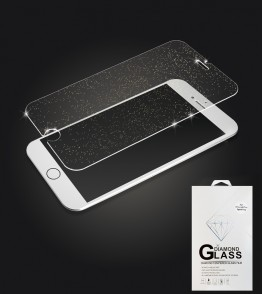 Premium Tempered Glass Sparkles iphone 6/6S