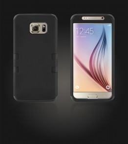 Hybrid Protector Cover Galaxy S6 - Black