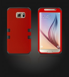 Hybrid Protector Cover Galaxy S6 - Red