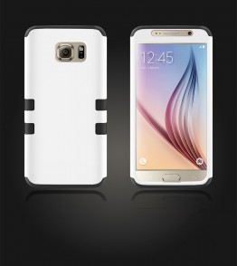 Hybrid Protector Cover Galaxy S6 - White