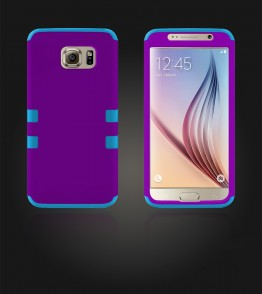 Hybrid Protector Cover Galaxy S6 - Purple
