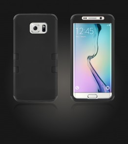 Hybrid Protector Cover Galaxy S6 edge - Black