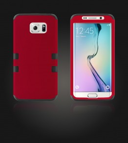 Hybrid Protector Cover Galaxy S6 edge - Red
