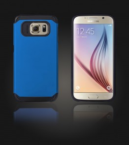 Duo Protection Case Galaxy S6 - Blue