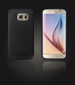 Duo Protection Case Galaxy S6 - Black