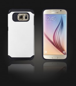 Duo Protection Case Galaxy S6 - White