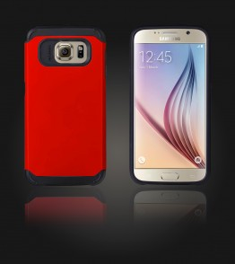 Duo Protection Case Galaxy S6 - Red