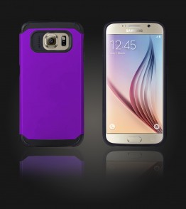 Duo Protection Case Galaxy S6 - Purple