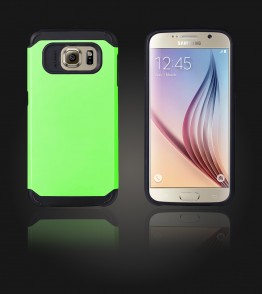 Duo Protection Case Galaxy S6 - Green