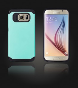 Duo Protection Case Galaxy S6 - Mint
