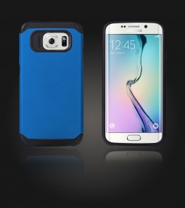 Duo Protection Case Galaxy S6 edge - Blue
