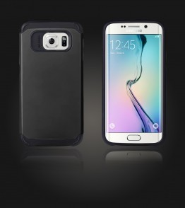 Duo Protection Case Galaxy S6 edge - Black