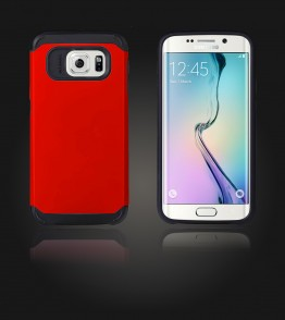 Duo Protection Case Galaxy S6 edge - Red