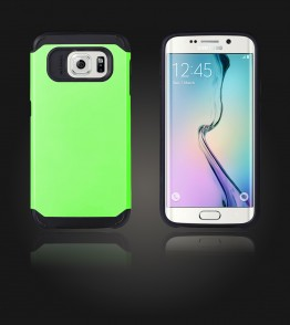 Duo Protection Case Galaxy S6 edge - Green