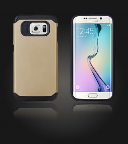 Duo Protection Case Galaxy S6 edge - Gold