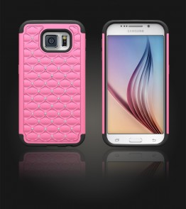 SiliTough diamond case Galaxy S6 - Pink