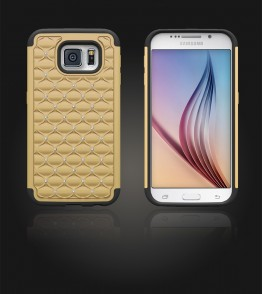 SiliTough diamond case Galaxy S6 - Gold