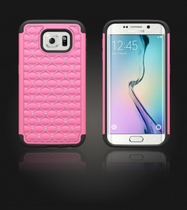 SiliTough diamond case Galaxy S6 edge - Pink
