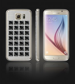 Diamond TPU Case Galaxy S6 - Black
