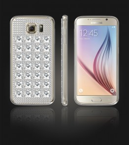 Diamond TPU Case Galaxy S6 - White