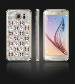 Diamond TPU Case Galaxy S6 - Brown