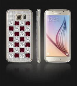 Diamond TPU Case Galaxy S6 - Red