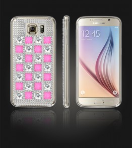Diamond TPU Case Galaxy S6 - Pink
