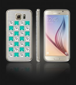 Diamond TPU Case Galaxy S6 - Mint