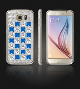 Diamond TPU Case Galaxy S6 - Blue